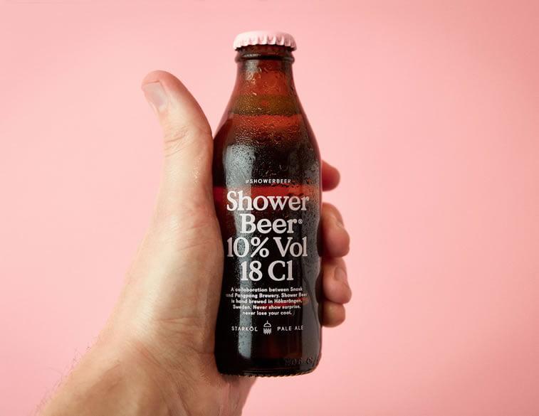 beer packaging design shower beer 1