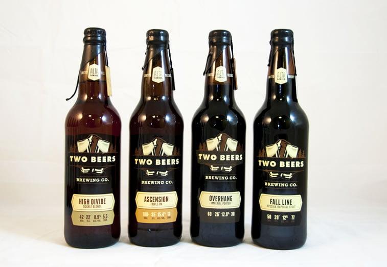 beer packaging design two beers 1