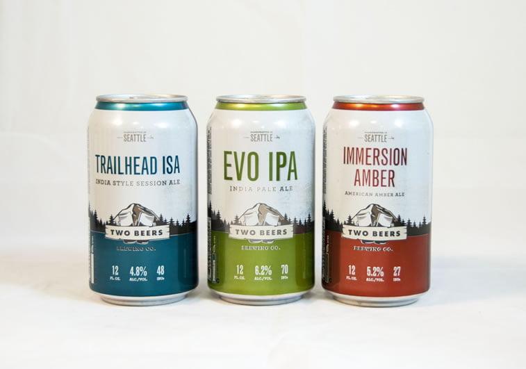 beer packaging design two beers 3