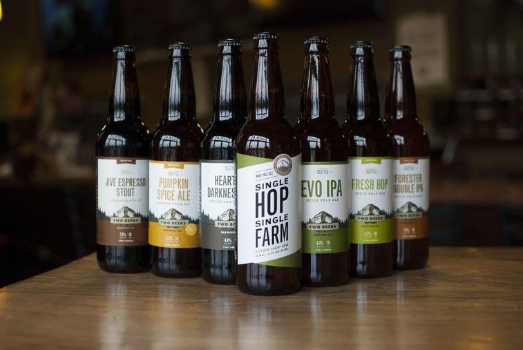 beer packaging design two beers 5