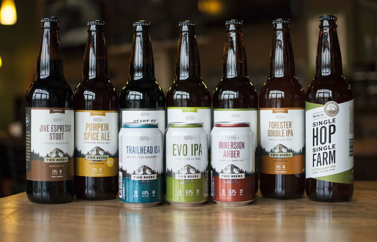 beer packaging design two beers 6