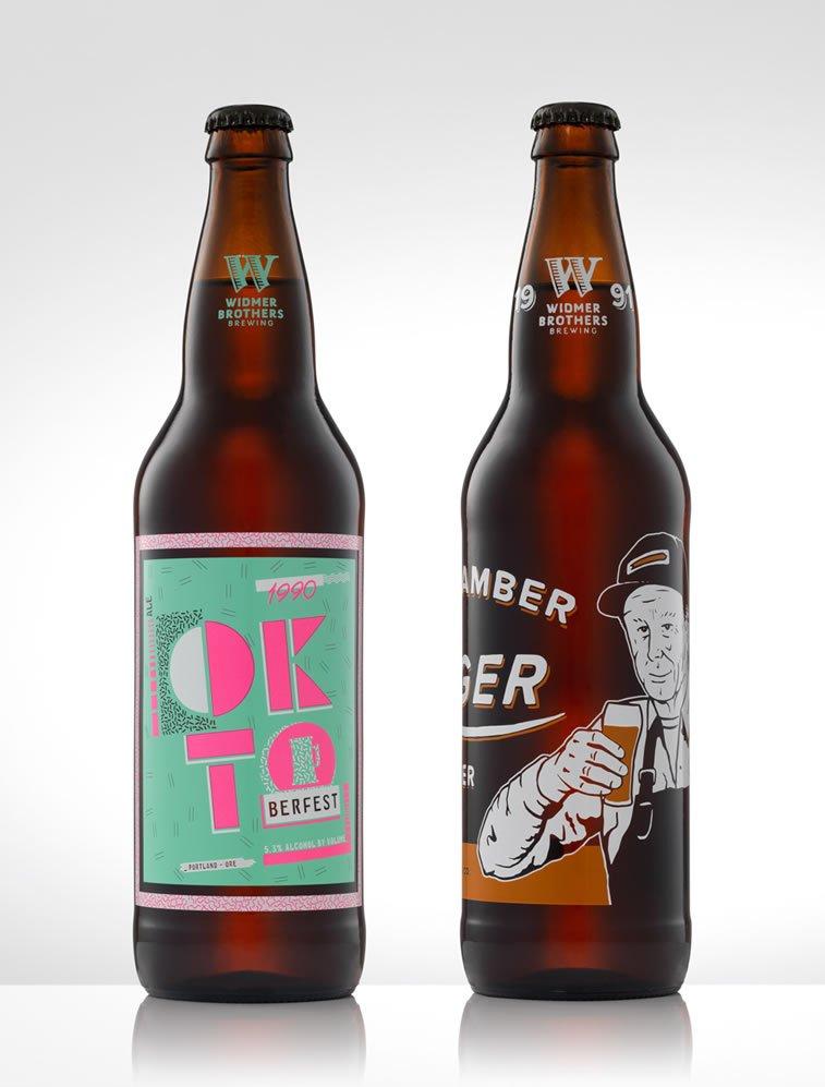 beer packaging design widmer bors 1