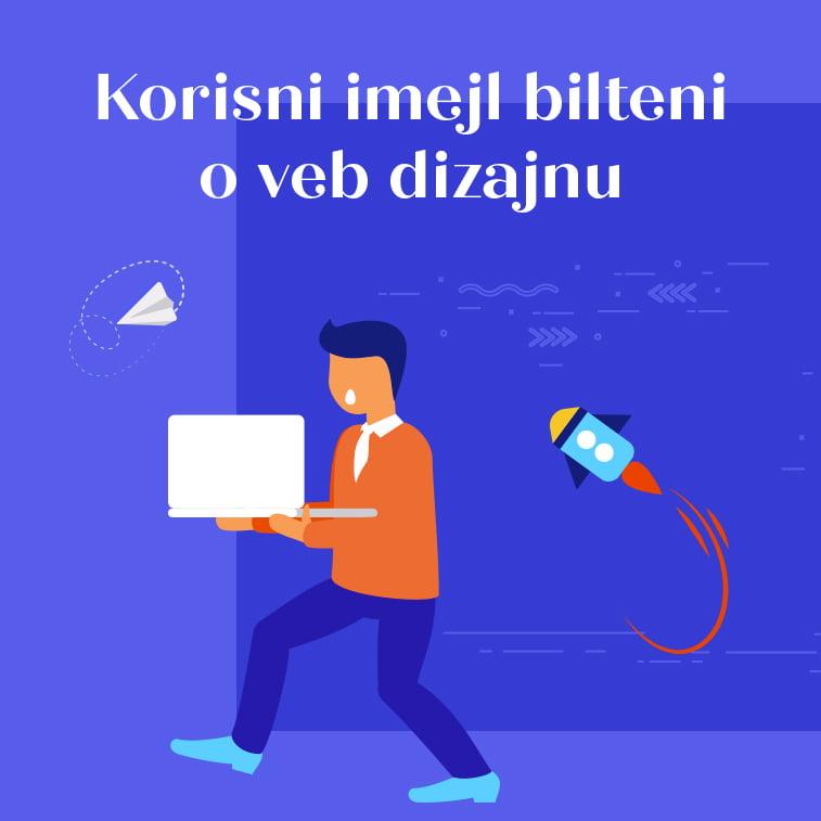 Korisni imejl bilteni o veb dizajnu