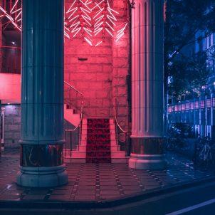 Neon dreams of Tokyo