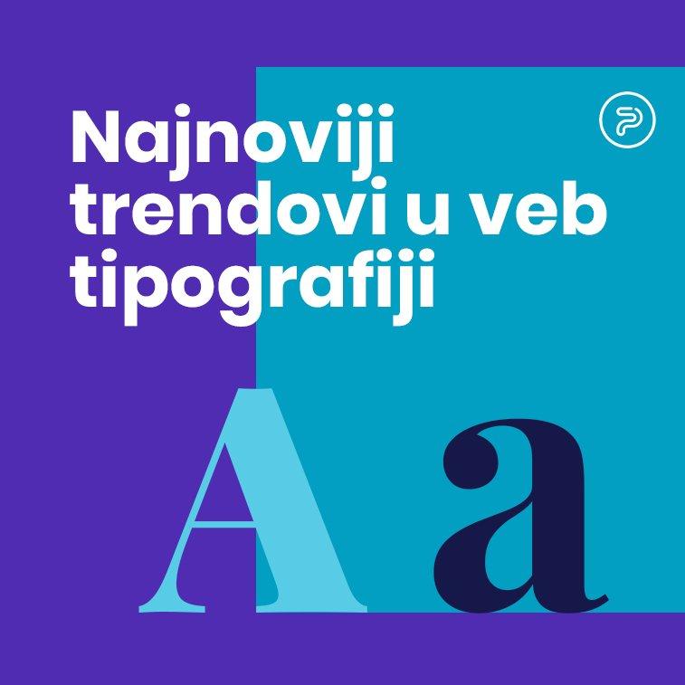 Najnoviji trendovi u veb tipografiji