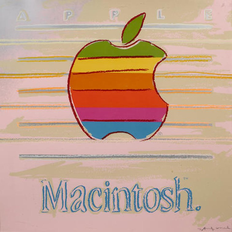 apple macintosh ad andy warhol advertizing