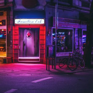 Hamburg noću na fotografijama Marka Brojera