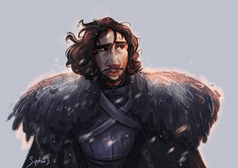 john snow illustration