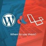 featured image wordpress and laravel