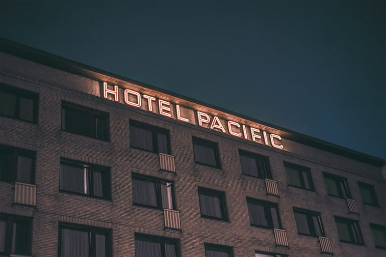 hamburg nocu fotografija hotel pacific