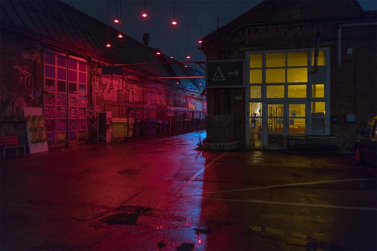 hamburg nocu fotografija galerija kvart