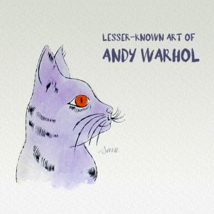 Lesser-known art of Andy Warhol