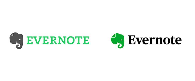 evernote logo redizajn 2018.