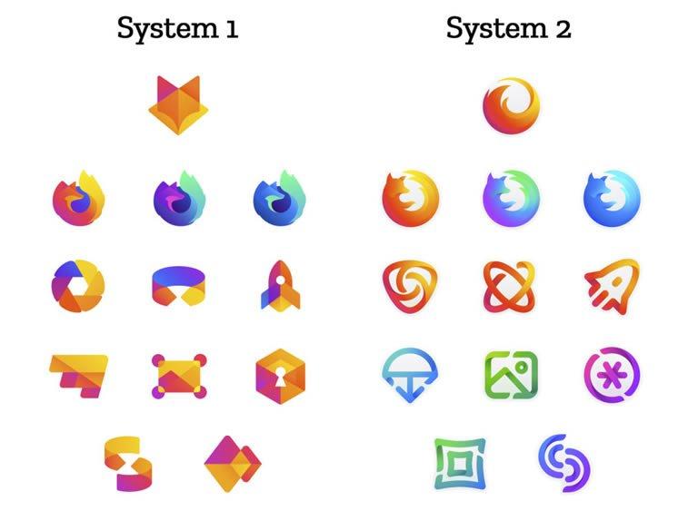 firefox proces redizajna predlozi logotipa