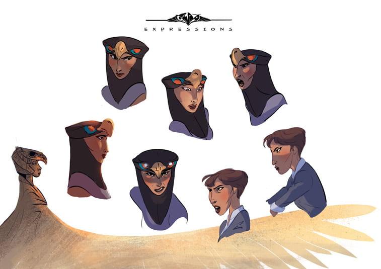 dizajn lika izrazi lica character design