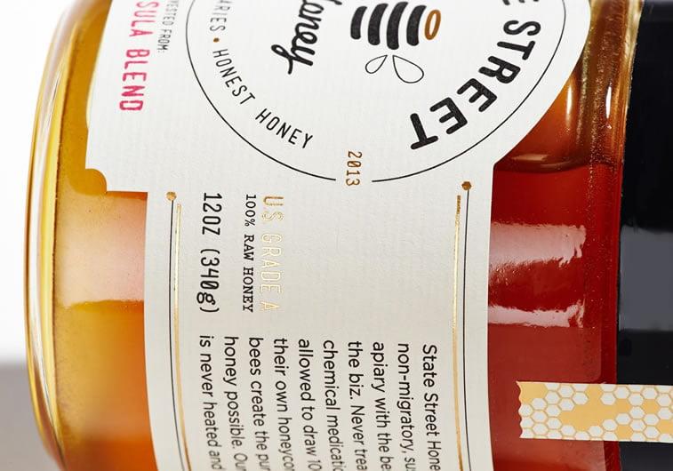etiketa za med