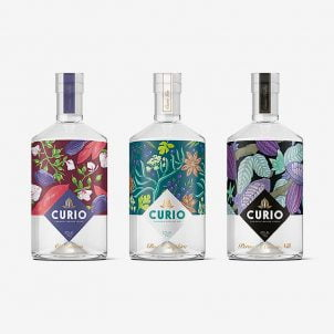 Spirits label design inspiration
