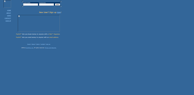 paypal web sajt 1999