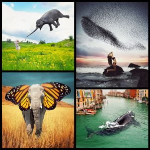 Surreal photo manipulations by Robert Jahns