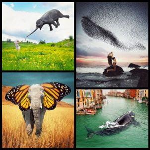 Surreal photo manipulations by Robert Jahns