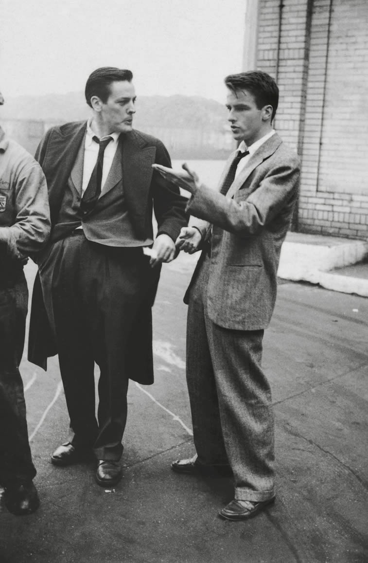 glumci montgomery clift kevin mccarthy 1949 stanley kubrick photo