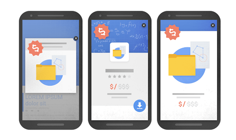 mobile pop-ups bad design google examples