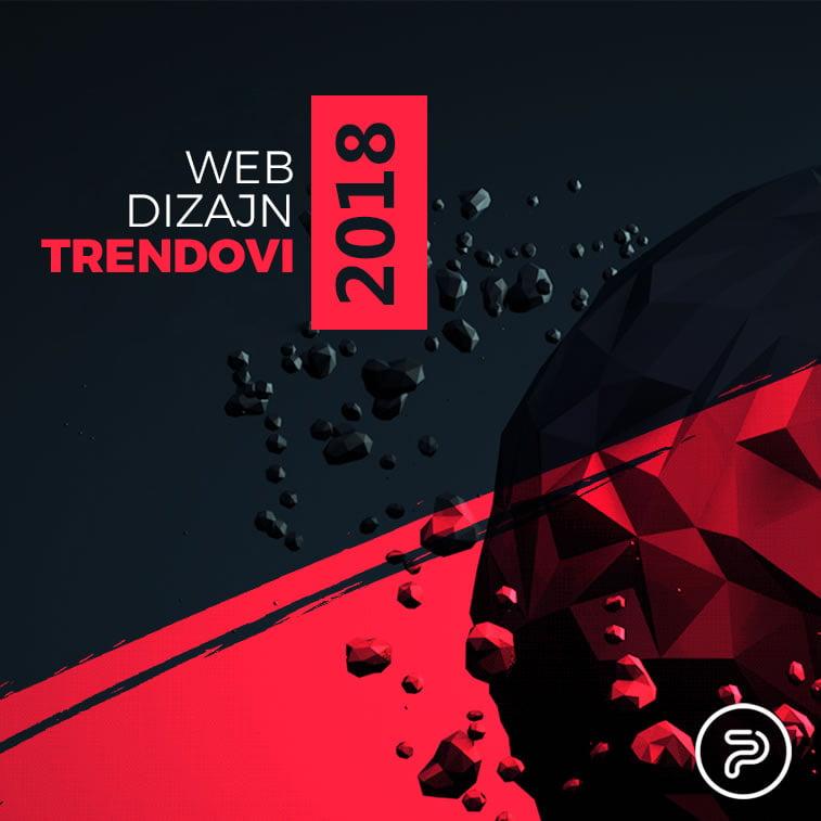 Web dizajn trendovi u 2018. godini