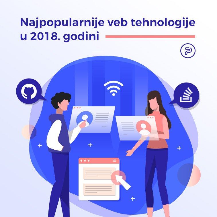 Najpopularnije veb tehnologije u 2018. godini