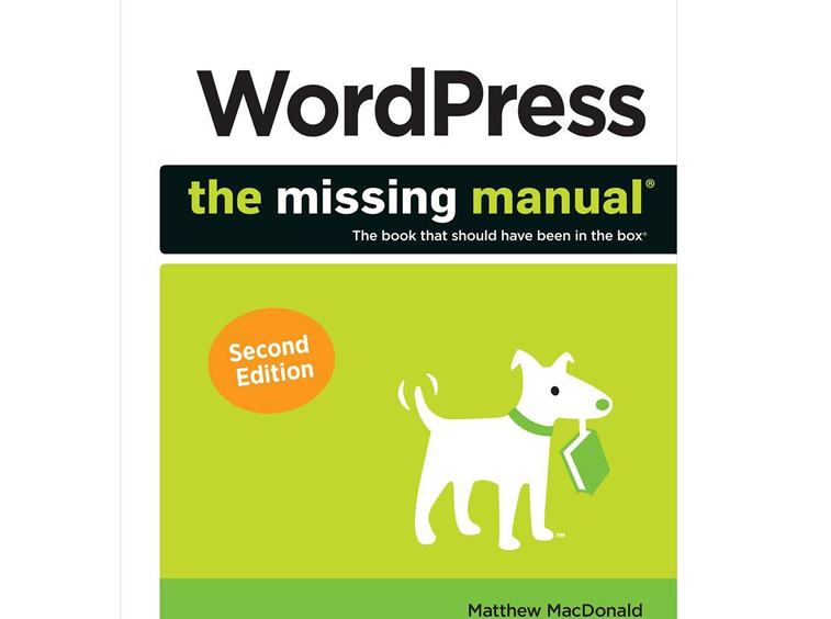 wordpress the missing manual knjiga