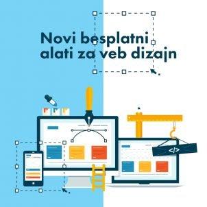 Novi besplatni alati za web dizajn