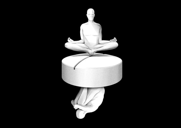 meditacija dve strane tablete meditacija