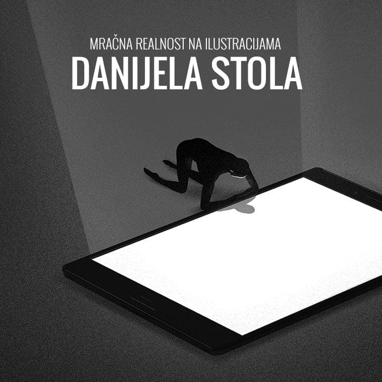 Mračna realnost na ilustracijama Danijela Stola