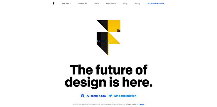 framer x interaktivni dizajn