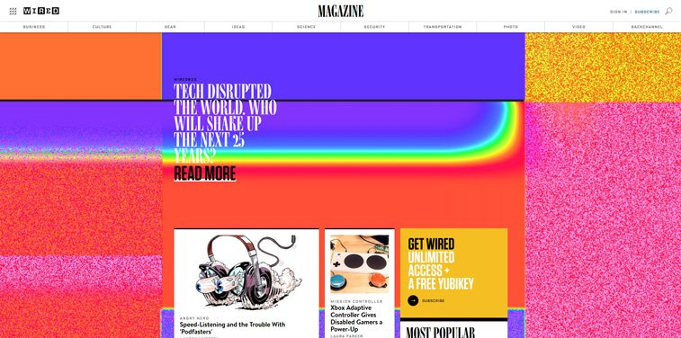 wired online magazine technology articles