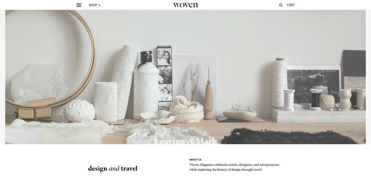 woven magazine waving tools