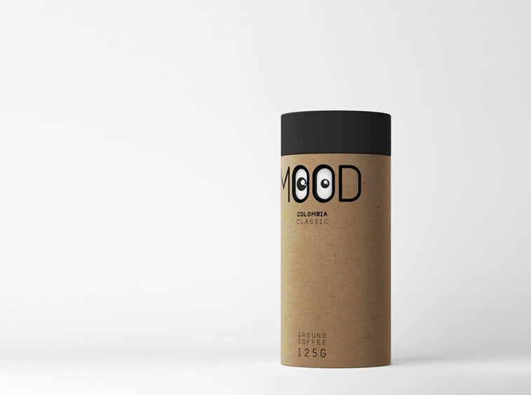 mood coffe concpet design packaging
