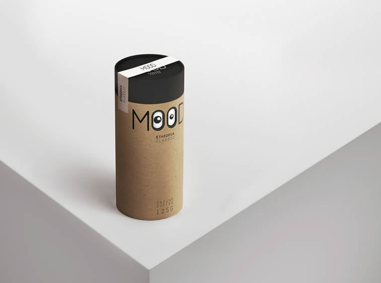 mood coffe original concept packaging design