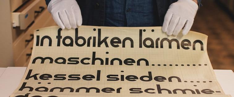bauhaus tipografija slova font erik spiekermann