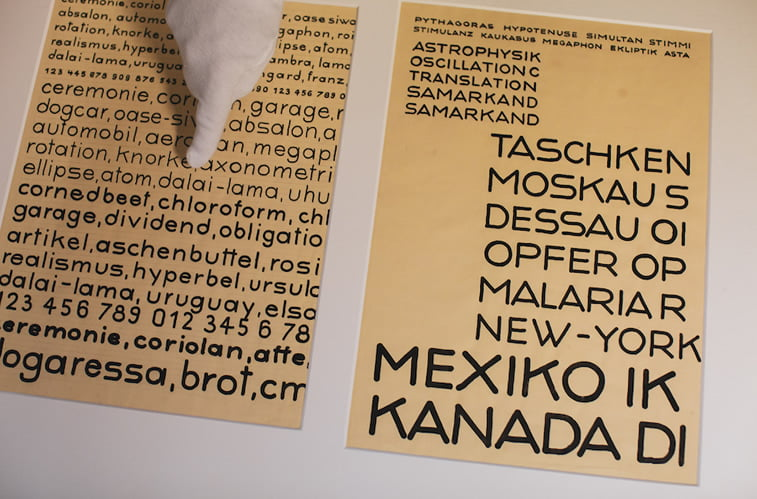 bauhaus tipografija slova font adobe hidden treasures