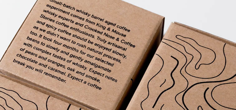 angels break coffee packaging