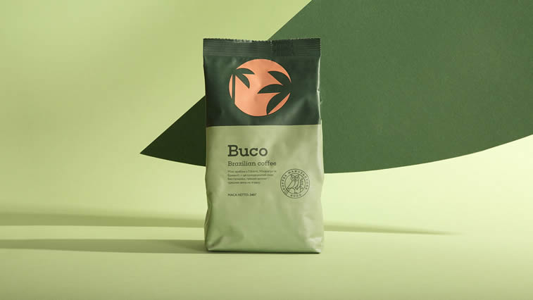 buco coffee packaging design