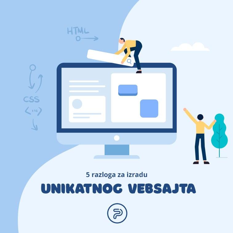 5 razloga za izradu unikatnog vebsajta