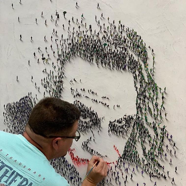 craig alan painting joker