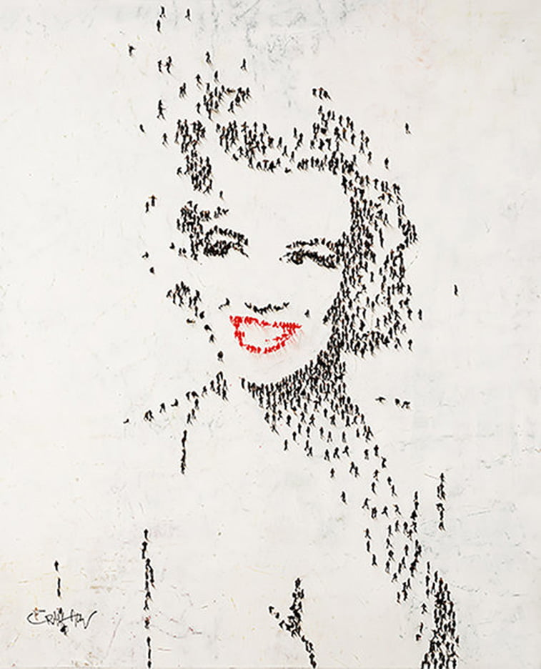 marilyn monroe portrait by craig alan