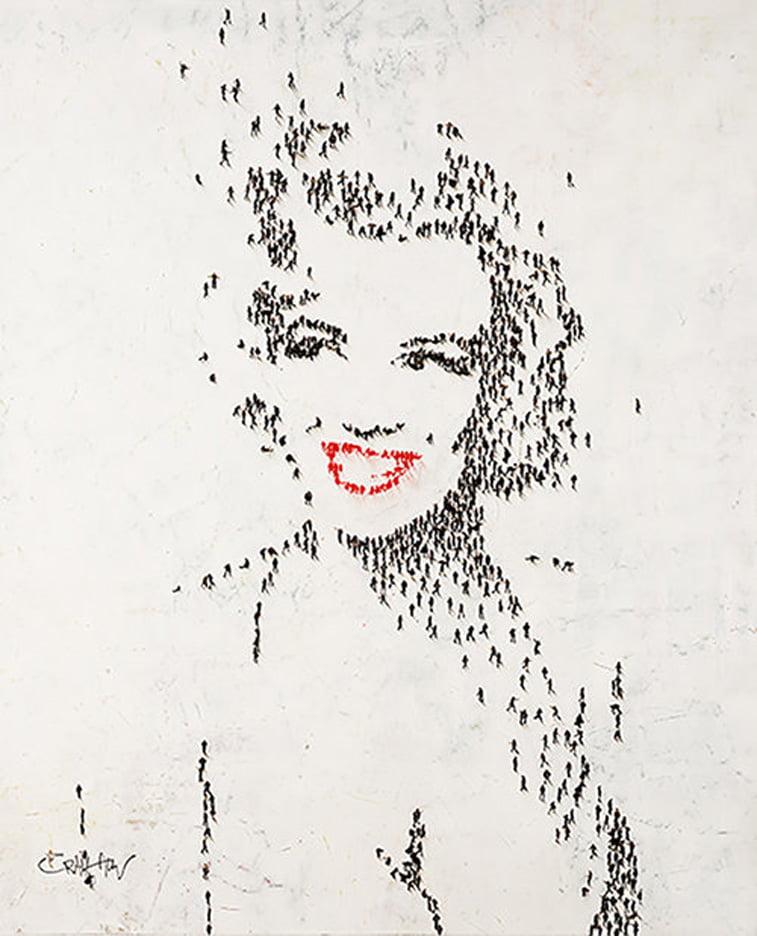 marilyn monroe portrait by craig alan
