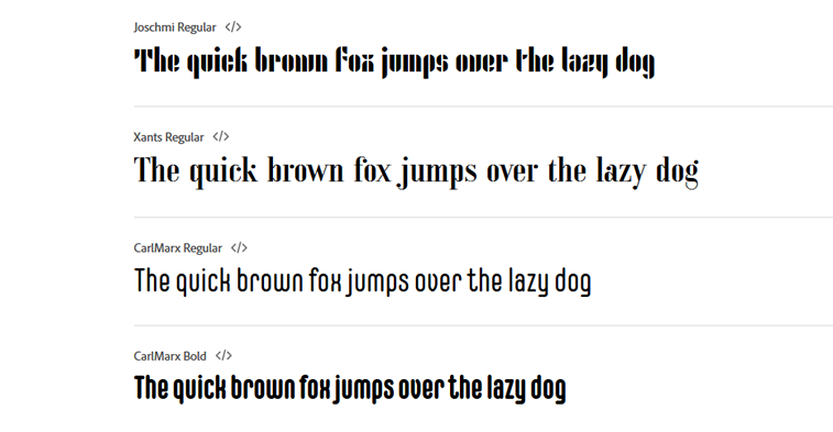 bauhaus fontovi adobe fonts example