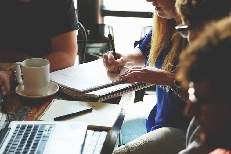 timski rad brainstorming web dizajn ideje