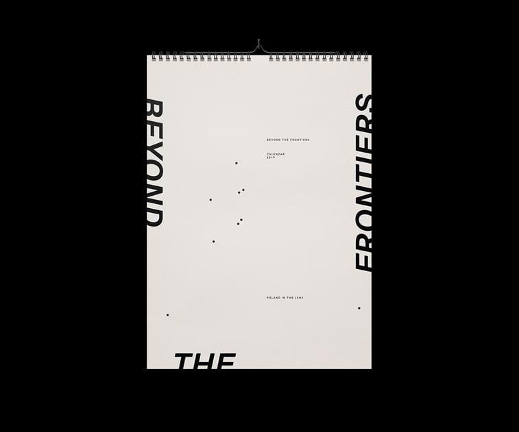 beyond the frintiers 2019 naslovna strana kalendara print dizajn