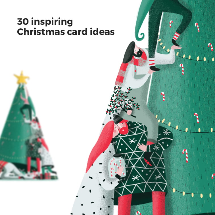 30 inspiring Christmas card ideas