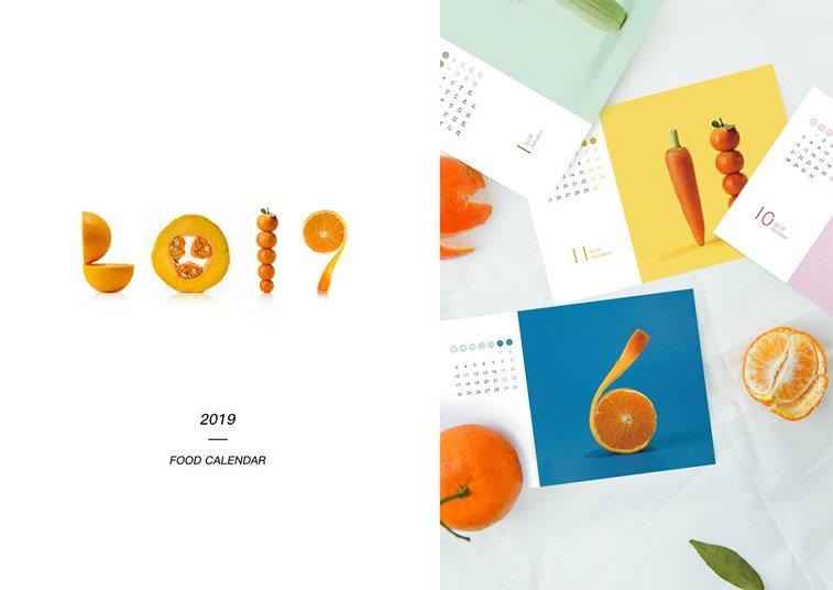 food calendar 2019 voce povrce
